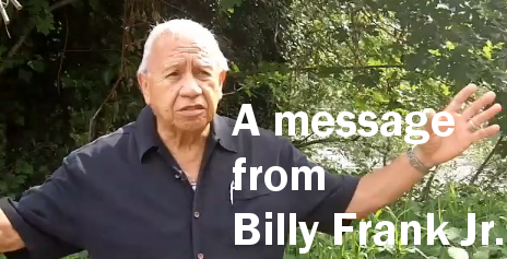 Message from Billy Frank Jr.